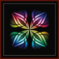 FR-359 - Fractal 359 - All cross stitch patterns - Abstract - Fractals - Graphic Art - Whimsical - Cross Stitch Collectibles