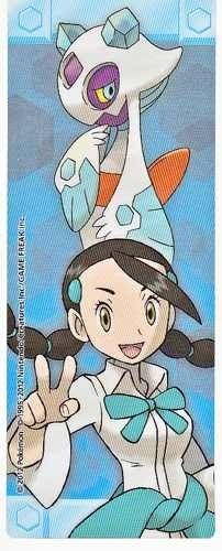 Pokemon Center 2012 Sinnoh Leaders Tournament Froslass Candice Bookmark