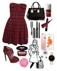 """""""Getting to know ya"""" by xxabbeybearxx ❤ liked on Polyvore featuring Jessica Simpson, River Island, Bobbi Brown Cosmetics and Worlds Away"""
