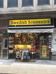 Souvenir Shop - Drottningatan, Stockholm, Sweden #Souvenir #Travel #shop #sw...