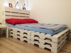 Euro pallet bed