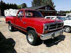 Red Dodge Ram Trucks