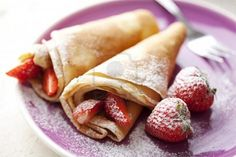 Crepes are such an easy picnic food!