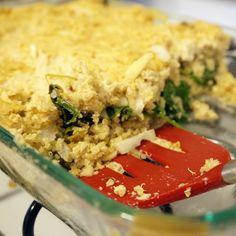 Gluten free vegetarian casserole