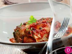 Όσο μπούκο στη γάστρα με χυλοπίτες   Είμαστε Γυναίκες   Το απόλυτο γυναικείο περιοδικό Greek Recipes, Meatloaf, Tandoori Chicken, Food Pictures, Cauliflower, Steak, Beef, Vegetables, Ethnic Recipes