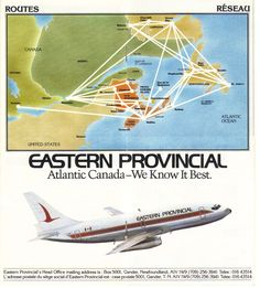 Airlines Past & Present: Eastern Provincial Airways