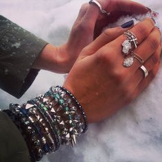 How do you wear your #charmedarms in the winter?
