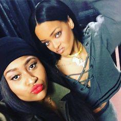 Rihanna backstage - ANTI world tour