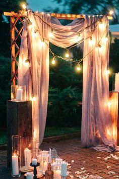 Свадебная арка: 9 главных трендов - Weddywood