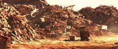 wall e landfill | Wall-E landfill