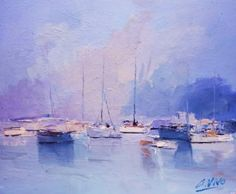 """Saatchi Art Artist Andres Vivo; Painting, """"Nº 4001  Quietos"""" #art"""