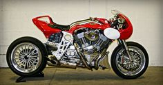 CR&S Motorcycles Duu Cafe Racer by Officine Metalliche #motorcycles #caferacer #motos | caferacerpasion.com
