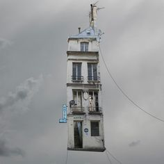 Laurent Chehere, Flying Houses - Max, 2013