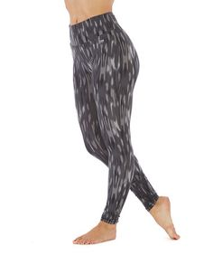 Look what I found on #zulily! Black Camille Tummy Control High-Waist Leggings #zulilyfinds