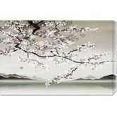Found it at Wayfair - 'Flower Blossom in Asian Landscape' by Nick Purser Stretched Canvas Art $133.33