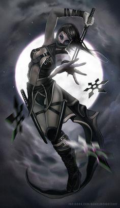 Ninja by danielmchavez.deviantart.com on @deviantART