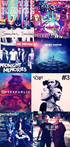 FAVORITE ALBUMS RIGHT NOW! comment if u like any of these!!! -Sarah