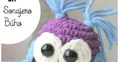 Como hacer un sonajero crochet con motivo de búho paso a paso