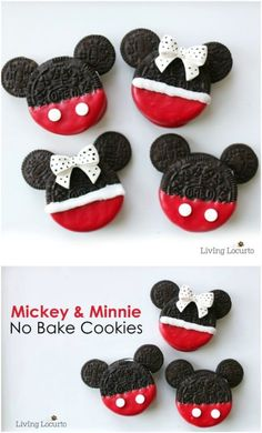 70 Christmas Cookie Recipes to Bring a Taste of Joy to Your Holiday Season 70 Christmas Cookie Recipes to Bring a Taste of Joy to Your Holiday Season Victoria Hardesty Christmas oreos One nbsp hellip Valentine for kids Christmas Cookies Kids, Christmas Deserts, Cookies For Kids, Valentine Cookies, Christmas Treats, Christmas Baking, Biscuits Mickey Mouse, Mickey Mouse Oreos, Mickey Mouse Christmas