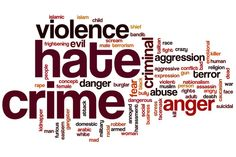 A hate crime is recognized as an act committed by a motivated individual who holds a bias stance on a particular belief, topic, or against a specific type of Angry Face, Criminal Defense, Bullying, Crime, Hate, Religion, Politics, Relationship, Motivation