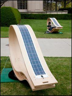 Espreguiçadeira solar