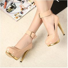 Women pumps stylish girls lovely shoes pink