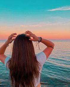 Beach lake blue sky sunset aesthetic fun instagram ideas