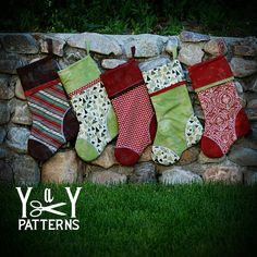 Items similar to PDF Sewing Pattern, The Heirloom Stocking Pattern, Holiday Sewing on Etsy Cute Stockings, Christmas Stockings, Christmas Sewing, Handmade Christmas, Child Apron Pattern, Stocking Pattern, Christmas Crafts, Christmas Ideas, Holiday Ideas