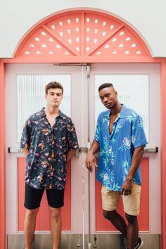 Photos from our shoot coming soon. Mens Printed Shirts, Got Party, Festival Shirts, Aloha Shirt, Tropical Pattern, Party Shirts, Festival Fashion, Men Casual, Mens Fashion