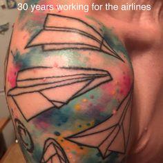 Deathly Hallows Tattoo, Fish Tattoos, I Tattoo, Watercolor Tattoo, Triangle, Temp Tattoo