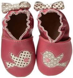 Robeez Tweetin Birds Crib Shoe (Infant/Toddler),Fuchsia,18-24 Months M US Infant:Amazon:Shoes