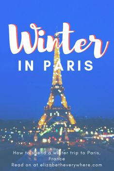 Winter in Paris - Heading to Paris this winter? Here are all the tips you need for a lovely trip, including lots of indoor activities to keep warm and packing tips! Winter Destinations, Travel Destinations, France Winter, Paris Travel Tips, Travel Ideas, Travel Around Europe, Travel Checklist, Couple, Winter Travel