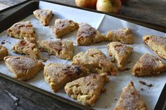 Low Carb Cinnamon Apple Scones