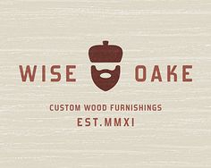 Maybe an oak for a roof with the house underneath? Wise Oake...Mustache logo
