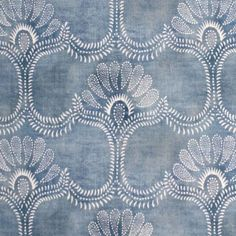 gentle blue pattern (Univers Mininga)