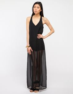 Is the sheer long skirt super-popular these days or what? Seeing it everywhere, including at Need Supply Co. and DKNY.
