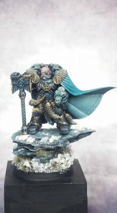 Warhammer 40k | Space Marines | Space Wolves - Ulrik the Slayer #warhammer #40k #40000 #wh40k #wh40000 #warhammer40k #gw #gamesworkshop #wellofeternity #miniatures #wargaming #hobby #tabletop