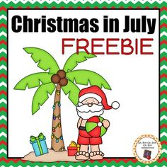Thank you for shopping my Christmas in July sale!  This freebie is only free this week and then it will be available for purchase.EVERYTHING will be 25%-75% off during the entire month of July!All CHRISTMAS resources will be 50% off!All NEW resources posted during the month of July will be 75% off for the first 24 hours!1 new FREEBIE every Friday!