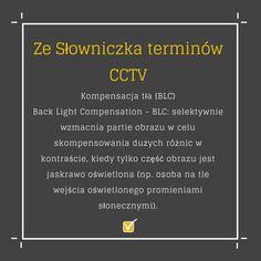 #monitoring #cctv #wiedza #słowniczek