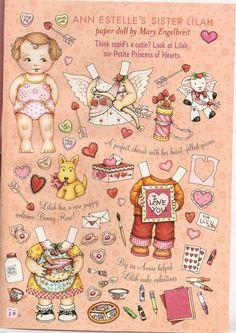 Ann Estelle sister paper doll Lilah 1