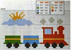 200 Cross Stitch Archives - Page 15 of 20 - Second Crafting Baby Cross Stitch Patterns, Cross Stitch Baby, Cross Stitch Designs, Knitting Charts, Baby Knitting, Knitting Patterns, Crochet Baby, Diy Embroidery, Cross Stitch Embroidery