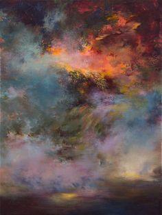 """Saatchi Online Artist: Rikka Ayasaki; Acrylic, Painting """"Passions, twilight 7005"""""""