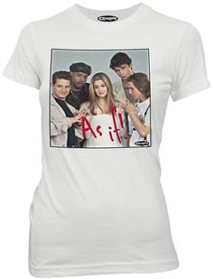 Clueless Juniors Shirt As If White Tee T-shirt Clueless Shirts Clueless Juniors Shirt As If White Tee T-shirt Clueless Juniors Shirt As If White Tee Cool T Shirts, Funny Shirts, Junior Shirts, Movie Shirts, White Tees, Cotton Tee, Toddler Girl, My Style, Petite Fille