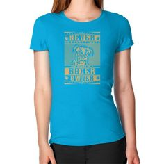 Never underestimate the power of a Boxer Owner Women's T-Shirt