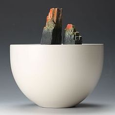 """This is a """"one off"""" ceramic sculpture by Richard Godfrey"""
