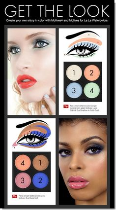 Create your own story in color with Motives® and #Motives for #La La Watercolors. #cosmetics #eye http://motives.marketamerica.com/steveg/index.cfm?action=services.csCustLanding=tips-and-trends==USA