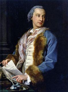 https://flic.kr/p/7kEuJd | Pompeo Batoni, Portrait of Francesco Benaglio, 1757. Treviso, Museo Diocesano di Arte Sacra |