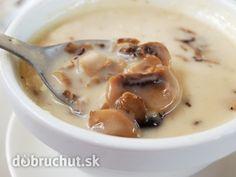 Hubová smotanová polievka