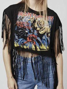 Camiseta Feminina Iron Maiden - Compre Online   DMS Boutique