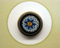 IMG_5185 (Bluefront Studio) Tags: art glass vintage antique jewellery button millefiore micromosaic